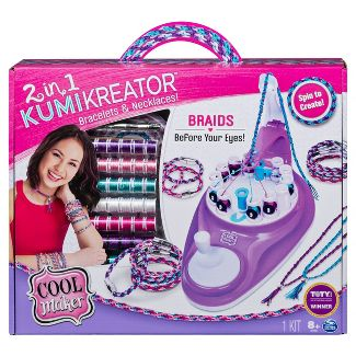 Cool Maker 2-in-1 Kumikreator Bracelets & Necklaces Kit