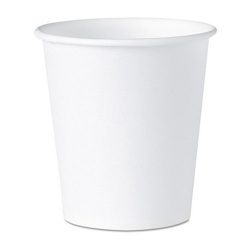 DART 44 Water Cups,White,Paper 3 oz.,PK5000 - image 1 of 1