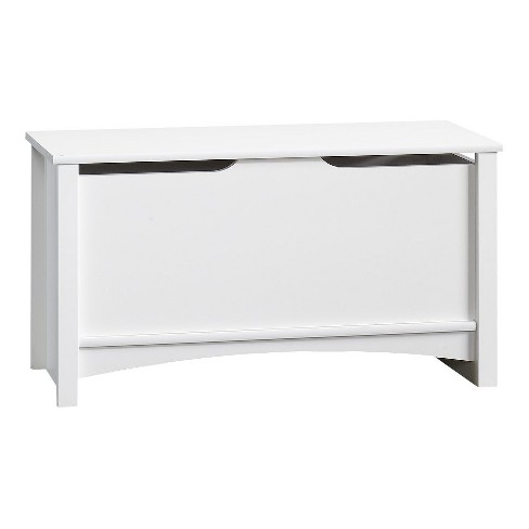 Child Craft Relaxed Traditional Toy Box/Storage Chest - Matte White - image 1 of 3