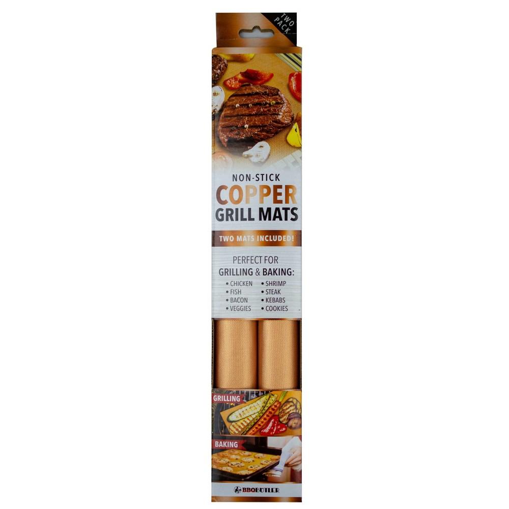 BBQ Butler 2pk Copper Grill Mats, Gold BBQ Butler 2pk Copper Grill Mats, Gold