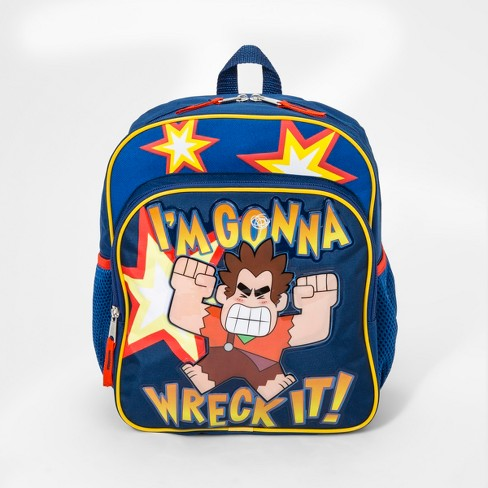 Boys' Wreck-It Ralph Backpack - Blue - image 1 of 2