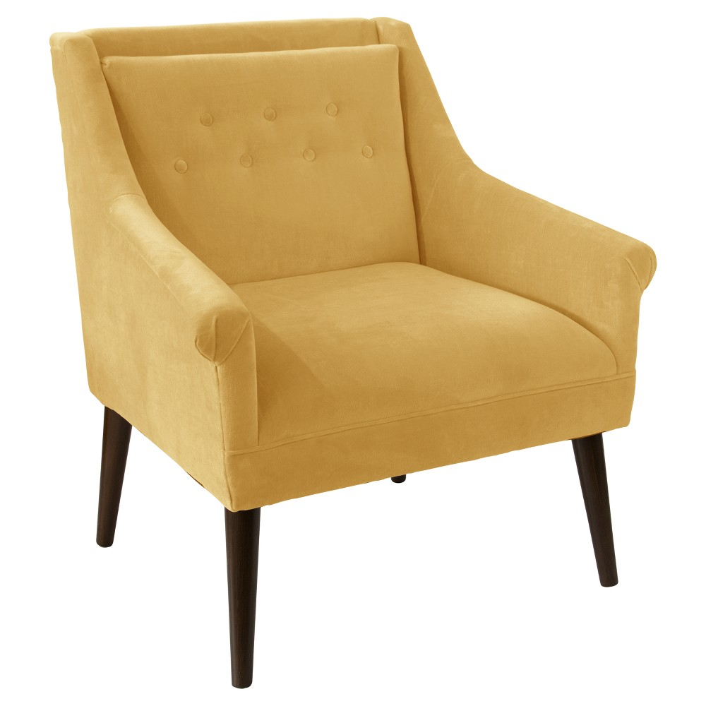 Hadley Button Tufted Chair - Hearth Daisy - Skyline Furniture