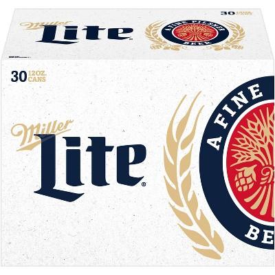 Miller Lite Beer - 30pk/12 fl oz Cans