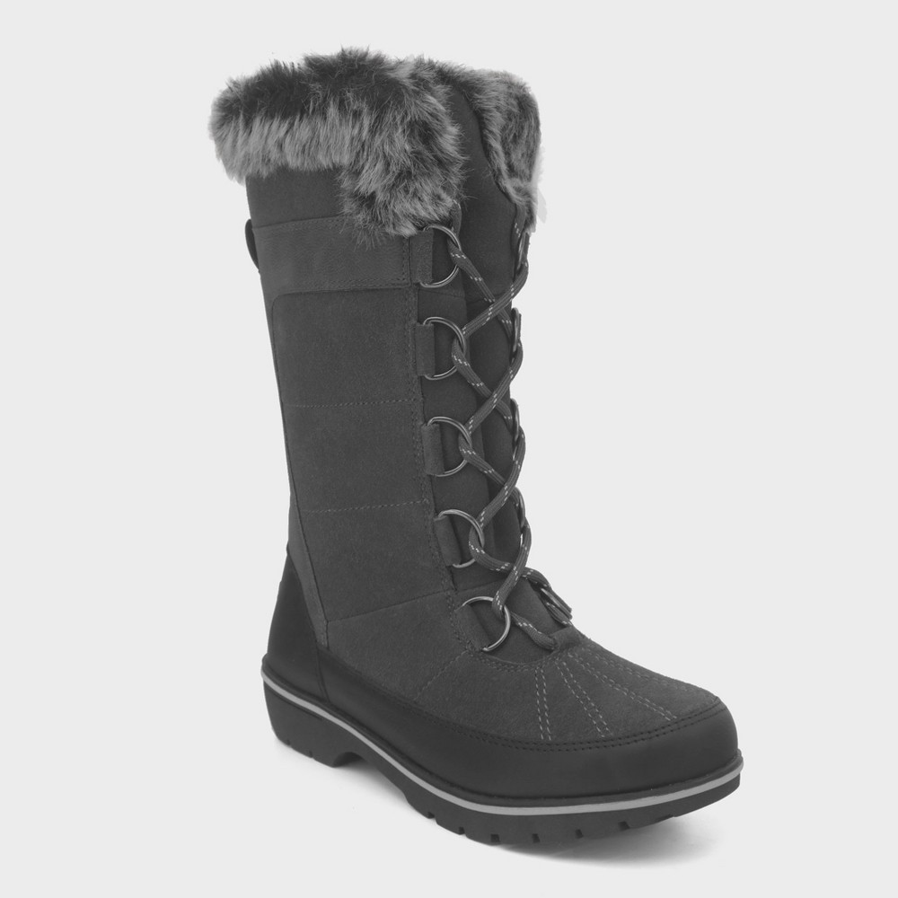 Women's Ruthie Tall Functional Winter Boots - C9 Champion Gray 7
