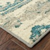 Antique Scrollwork Area Rug - image 2 of 3