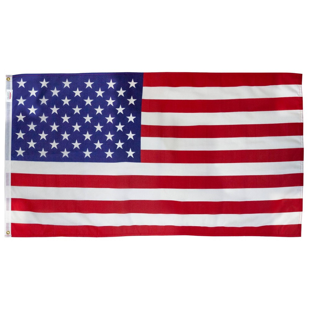 Image of 3'x5' Polycotton Flag With Pole