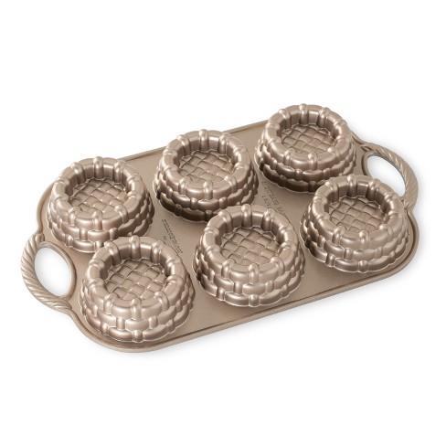 Nordic Ware Cast-Aluminum Nonstick Baking Pan, Shortcake Baskets - image 1 of 4