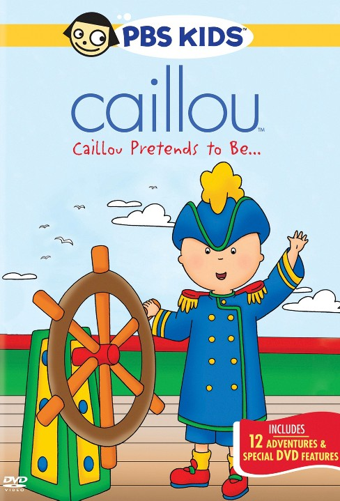 Caillou:Pretends to be (DVD) - image 1 of 1