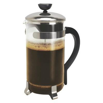 Primula 8 Cup Coffee Press - Chrome