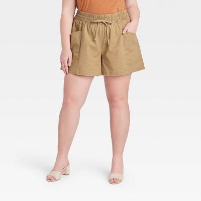 Women's Plus Size Pull-On Shorts - Ava & Viv™