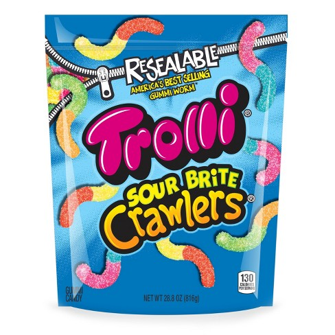 trolli sour brite crawlers gummi candy 28 8oz target