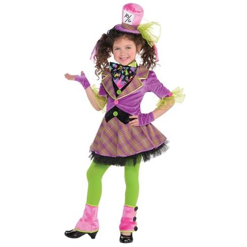 Kids Mad Hatter Girl Halloween Costume 4 6 Target
