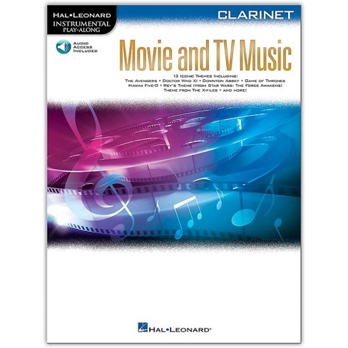 Hal Leonard Movie and TV Music for Clarinet Instrumental Play-Along Book/Audio Online - image 1 of 1