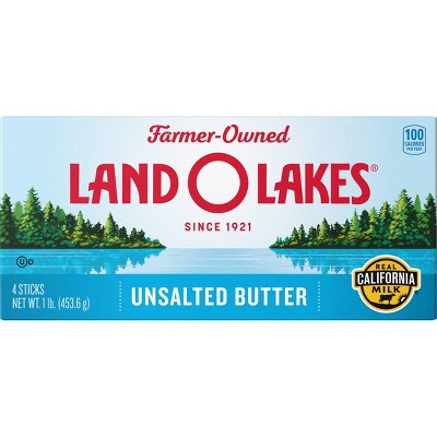 Land O Lakes Western Style Unsalted Butter - 1lb