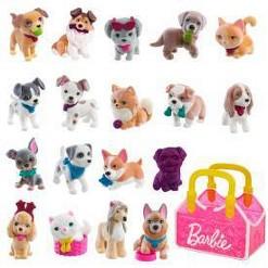 Barbie, animal figures