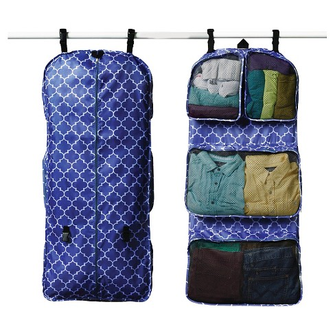 Rume Garment Travel Organizer Bag Blue