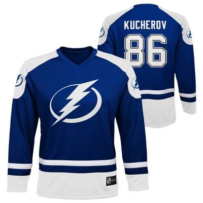 NHL Tampa Bay Lightning Nikita Kucherov Boys' Jersey - L
