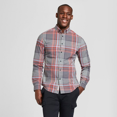 69c968fa79d Men's Slim Fit Northrop Poplin Button-Down Shirt - Goodfellow & Co™ : Target
