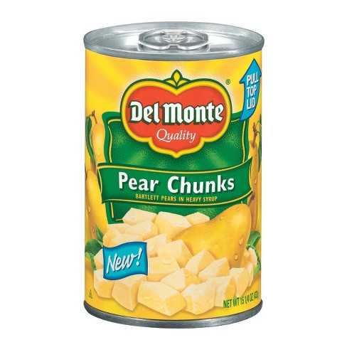 Del Monte Bartlett Pear Chunks in Heavy Syrup - 15.25oz - image 1 of 1