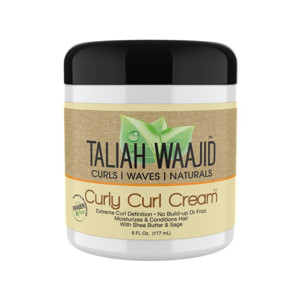 Image of Black Earth Taliah Waajid Curly Curl Cream - 6 fl oz
