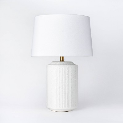 Ceramic Assembled Table Lamp White - Threshold™ designed with Studio McGee