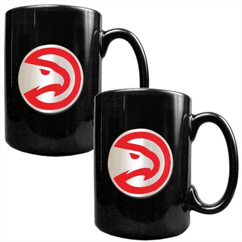 NBA 2pk 15oz Black Coffee Mug Set - image 1 of 1