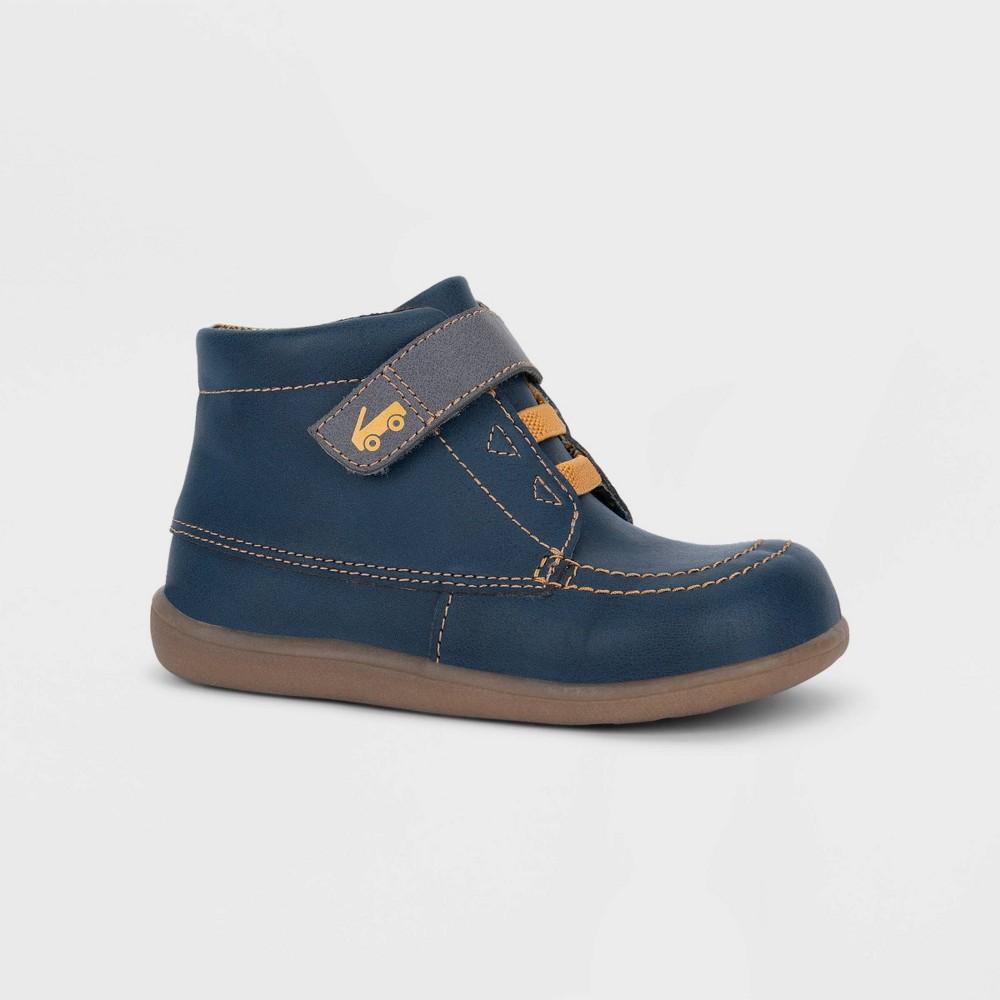 Image of Toddler Boys' See Kai Run Basics Gibson Fashion Boots - Navy 4, Toddler Boy's, Blue