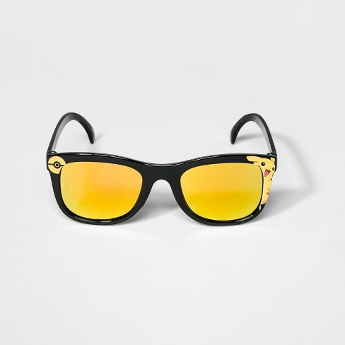 Boys' Pokemon Sunglasses - Yellow - image 1 of 2