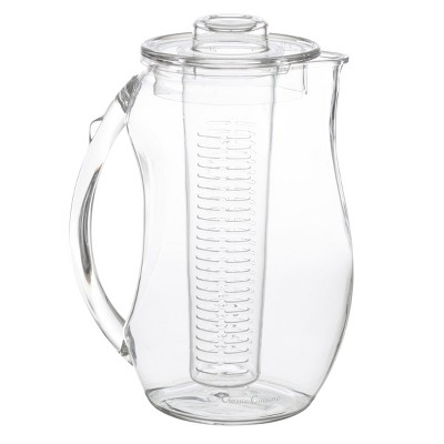 Hastings Home Infusion Pitcher With Removable Fruit Infusion Tube - 96 Oz