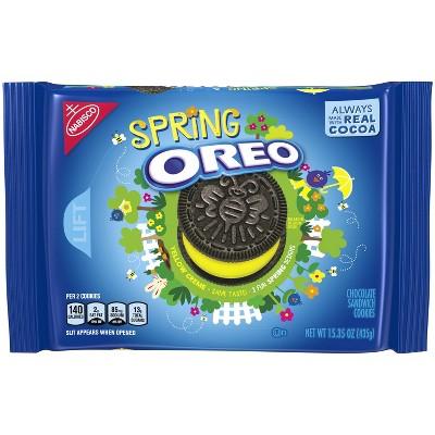 Oreo Spring Design Chocolate Sandwich Cookies - 15.35oz