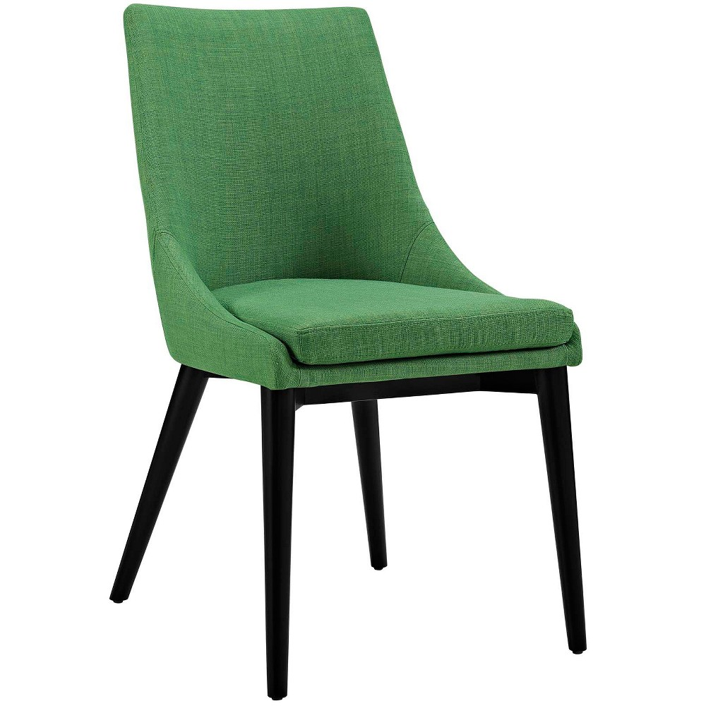 Viscount Fabric Dining Chair Kelly Green - Modway