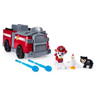 PAW Patrol Marshall's Ride 'n' Rescue Transforming 2-in-1 Playset and Fire Truck