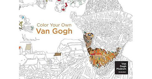 Color Your Own Van Gogh Adult Coloring Book - image 1 of 1