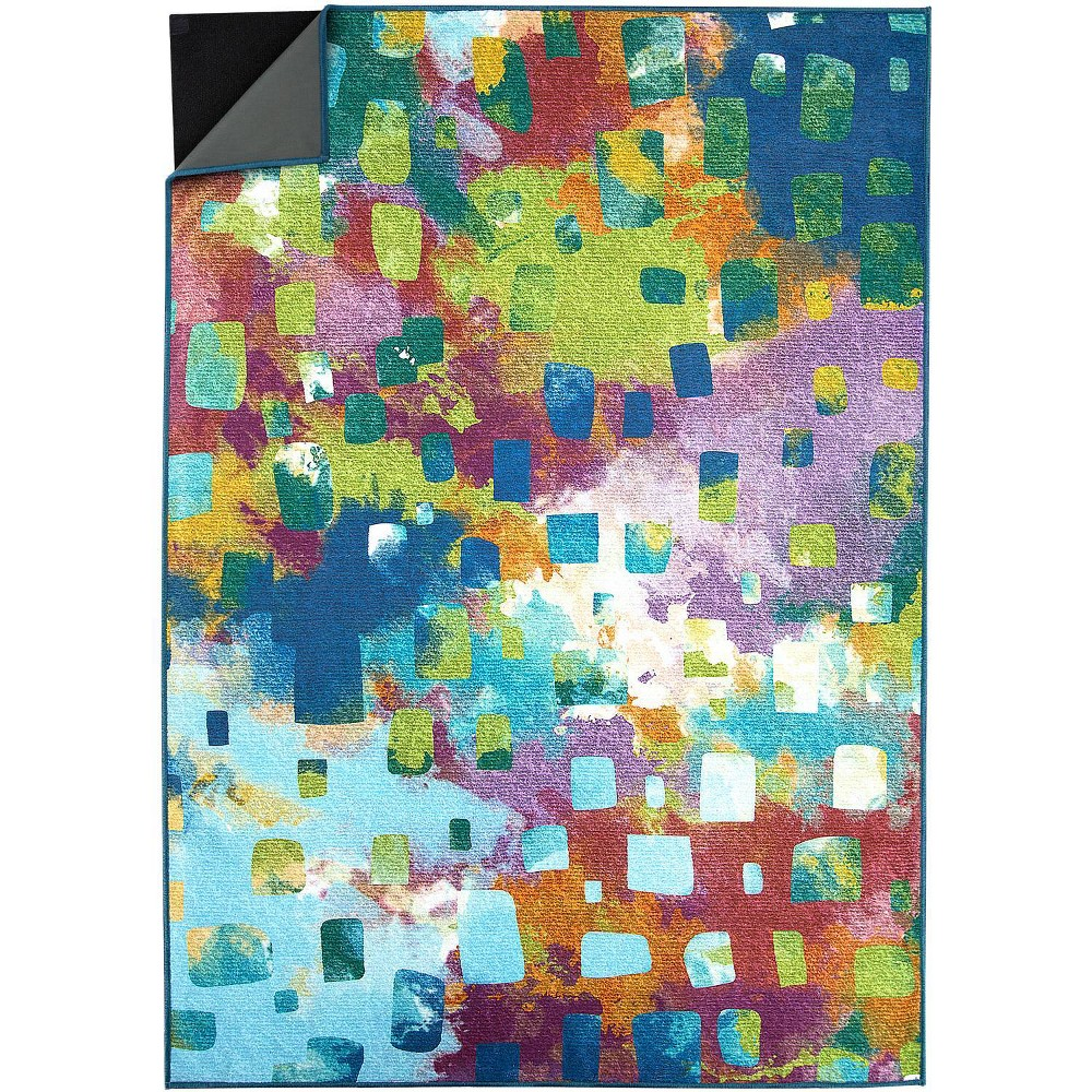 Image of 5'x7' Abstract Rug - Ruggable, Size: 5'x7'