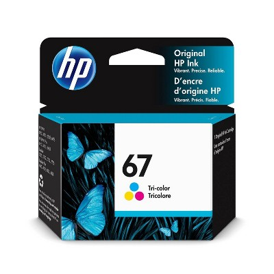 HP 67 Tri-color Ink Cartridge