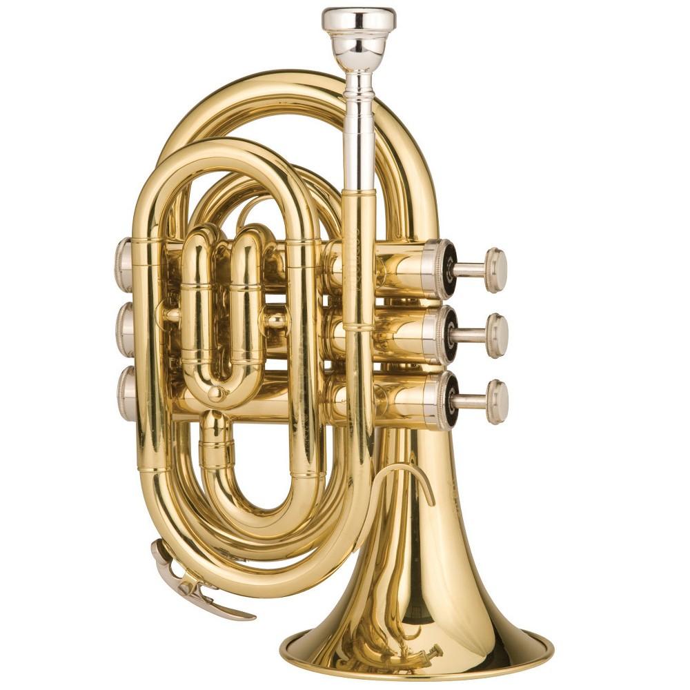 Ravel RPKT1 Pocket Trumpet - Brass