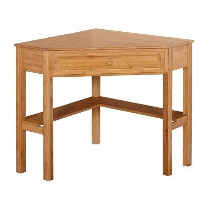 Bamboo Corner Desk Wood - Buylateral