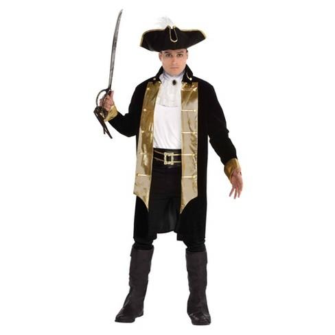 Men's Treasure Captain Halloween Costume - image 1 of 1