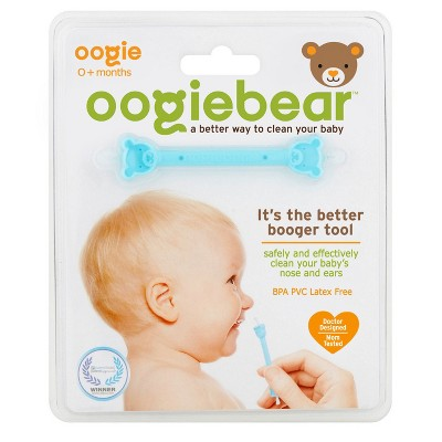 oogiebear The Better Booger Tool Nose & Ear Cleaner - Blue