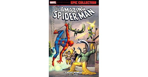 Epic Collection: Amazing Spider-Man 1 : Great Power (Paperback) (Stan Lee) - image 1 of 1