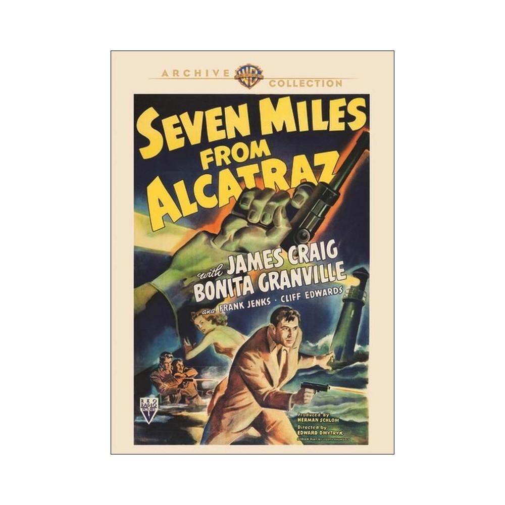 Seven Miles From Alcatraz (Dvd)