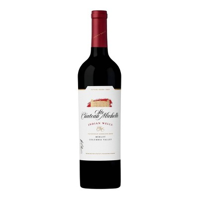 Chateau Ste. Michelle Indian Wells Merlot Red Wine - 750ml Bottle