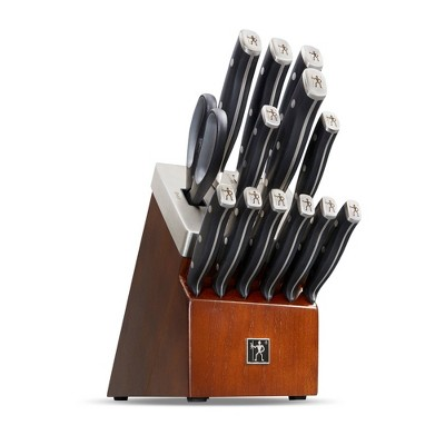 Henckels Forged Accent 14pc Self-Sharpening Knife Block Set