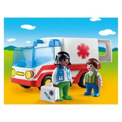 Playmobil Ambulance, mini figures