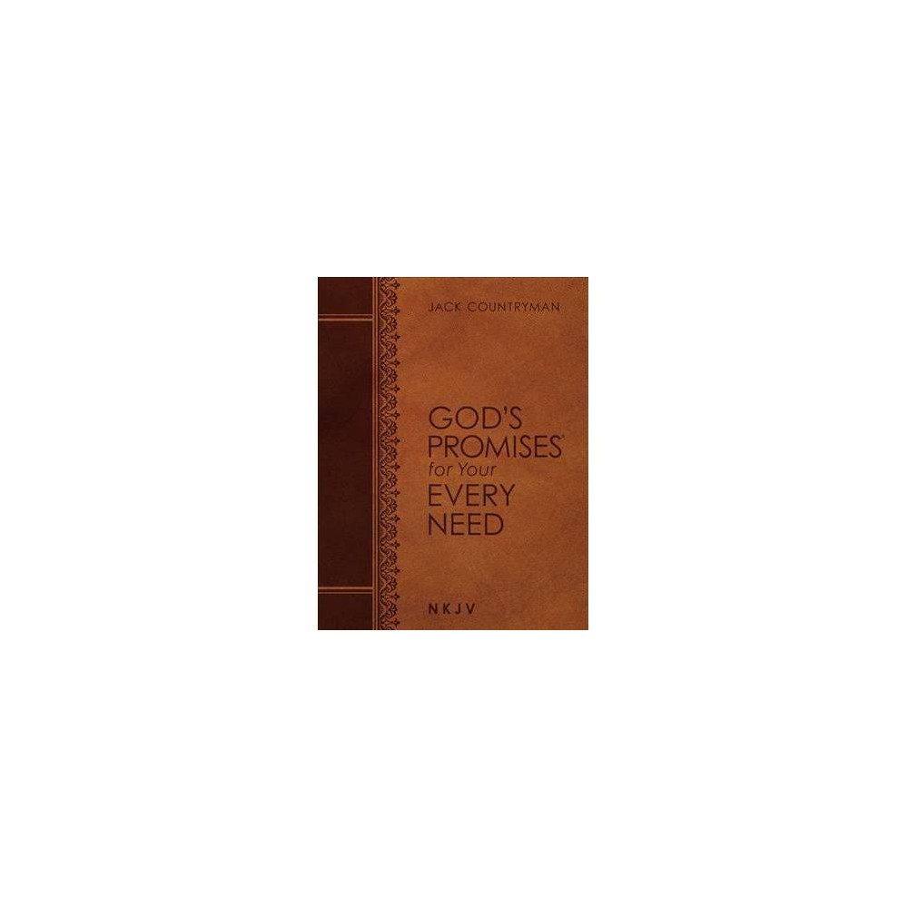 God's Promises for Your Every Need : New King James Version, Large Text Leathersoft - (Paperback)