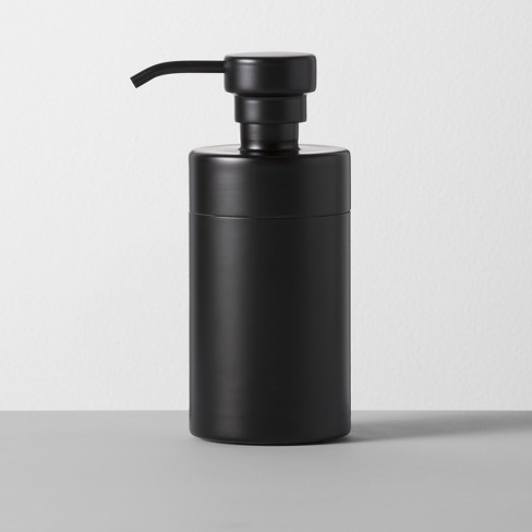 Solid Soap/Lotion Dispenser Black - Made By Design™ - image 1 of 3