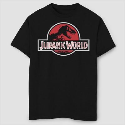 Boys' Jurassic World Classic Logo T-Shirt - Black