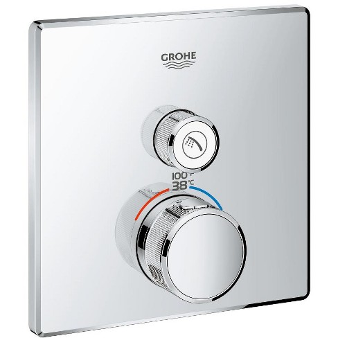Grohe America, Inc 29 140 SmartControl Single Function Thermostatic Valve Trim Only - image 1 of 1