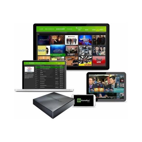SiliconDust HDHomeRun Connect Quatro TV Streaming Player - Black (4988977)
