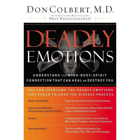 Deadly Emotions - by  Don Colbert (Paperback) - image 1 of 1